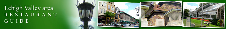 Allentown, All States area restaurant guide (header)