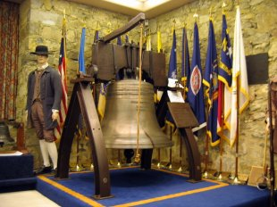 Downtown Liberty Bell Shrine Replica